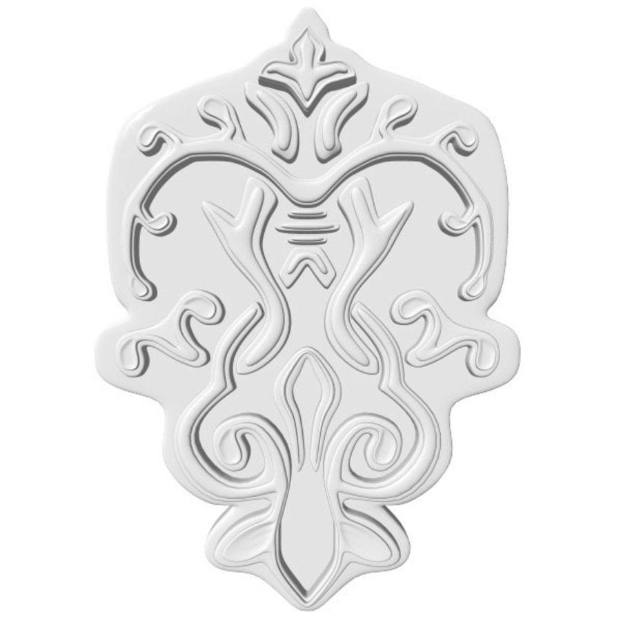 Arkitektoniska element royalty-free 3d model - Preview no. 1