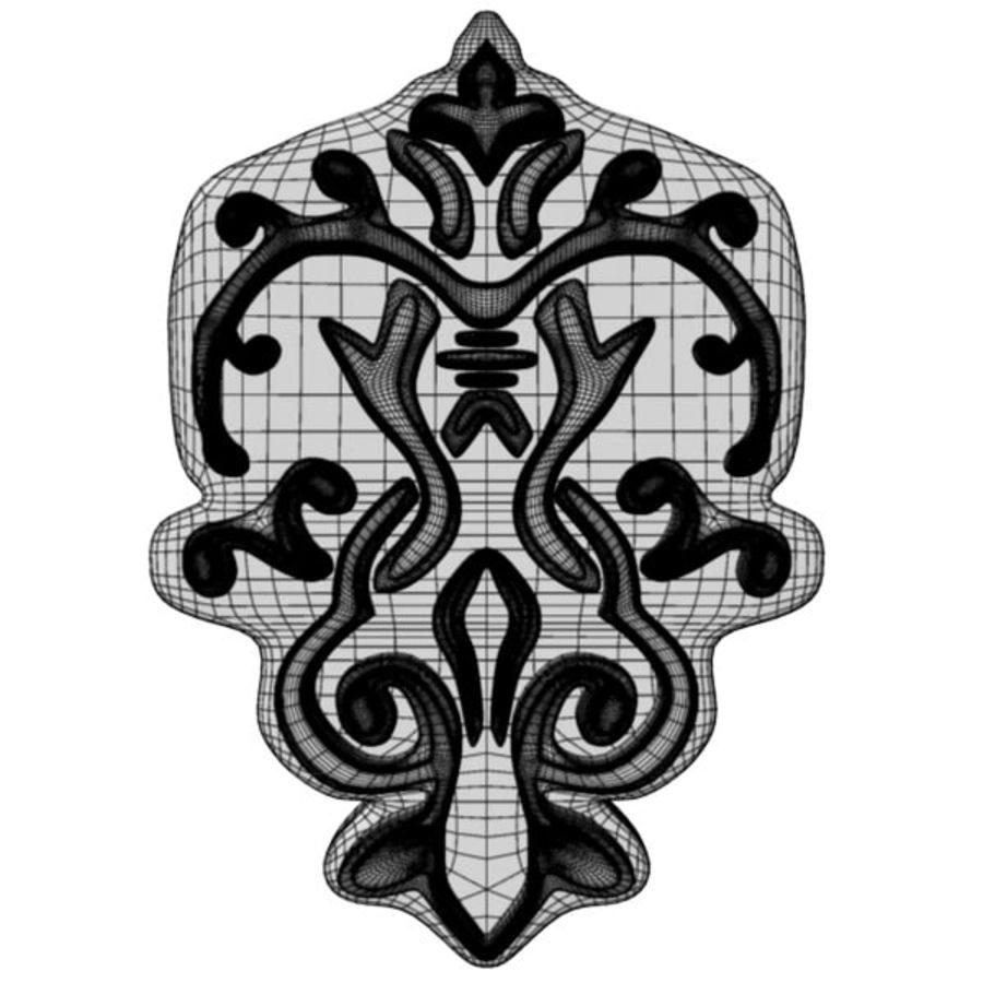 Arkitektoniska element royalty-free 3d model - Preview no. 5