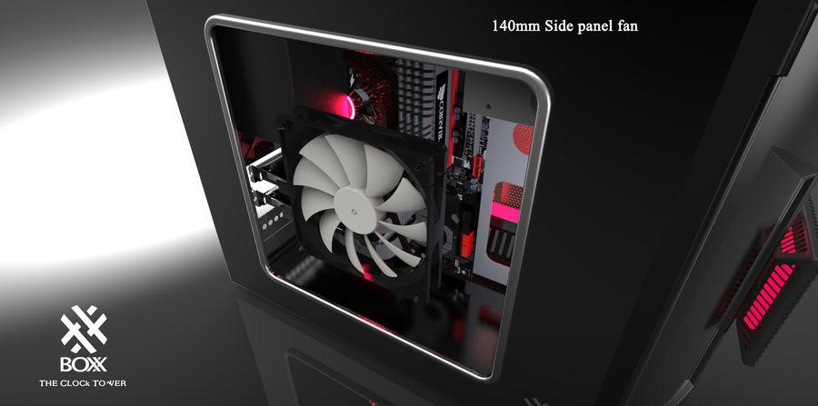 Wieża zegarowa royalty-free 3d model - Preview no. 11