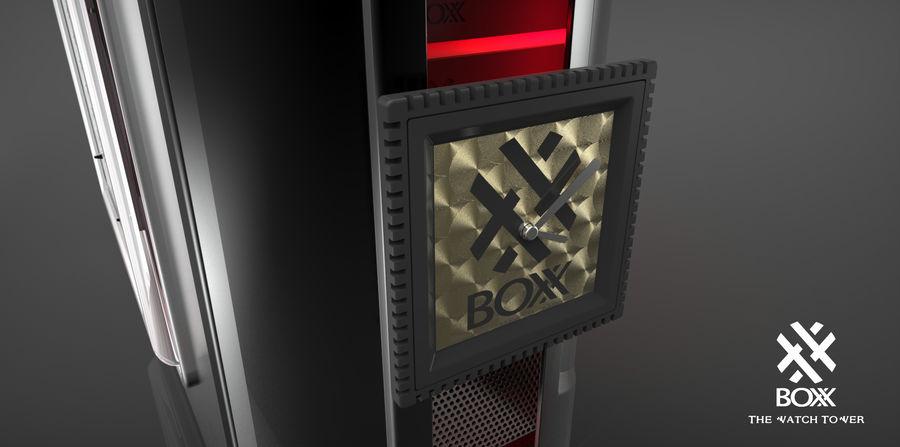 Wieża zegarowa royalty-free 3d model - Preview no. 14