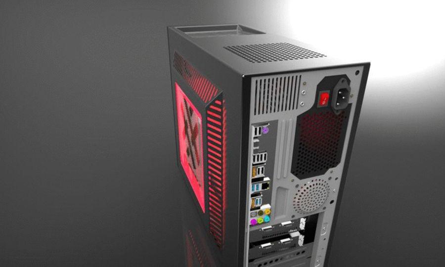 Wieża zegarowa royalty-free 3d model - Preview no. 5