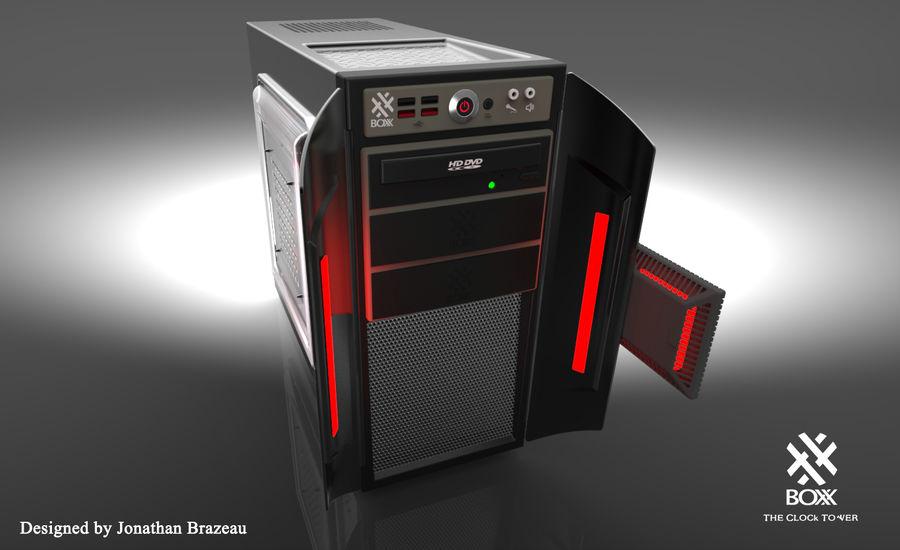 Wieża zegarowa royalty-free 3d model - Preview no. 12