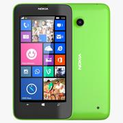 Nokia Lumia 630/635 Dual SIM jasnozielona 3d model