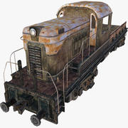 Locomotief 3d model