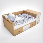 LineasTaller Bed modelo 3d