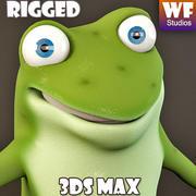 卡通青蛙 3d model
