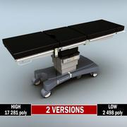 Operationstisch niedrig poly hoch 3d model