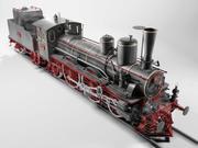 Orleans 1893 Steam Locomotive 3d model