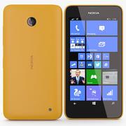 Nokia Lumia 630 635 Laranja 3d model