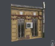 建筑模块 3d model