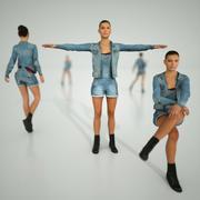 Kot Kızlar Arma 3d model