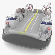해안 커넥터로 배송 3d model