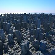 Большой город 08 3d model