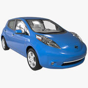 日产Leaf BEV 2014 3d model