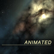Galaxy MilkyWay Arka Plan 3d model