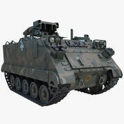 US Army Armored Vehicle M901 ITV 3d model