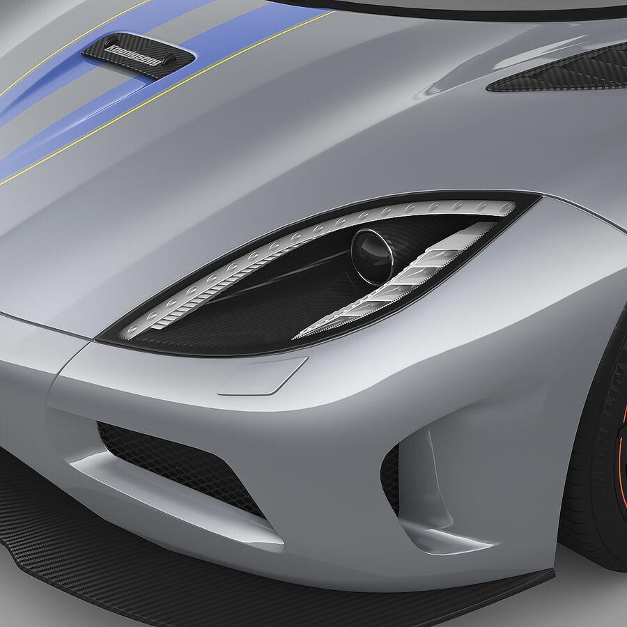 Koenigsegg Agera royalty-free 3d model - Preview no. 6