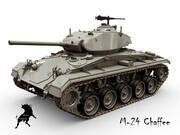 M-24チャフィー 3d model
