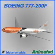 Boeing 777-200F TNT 3d model