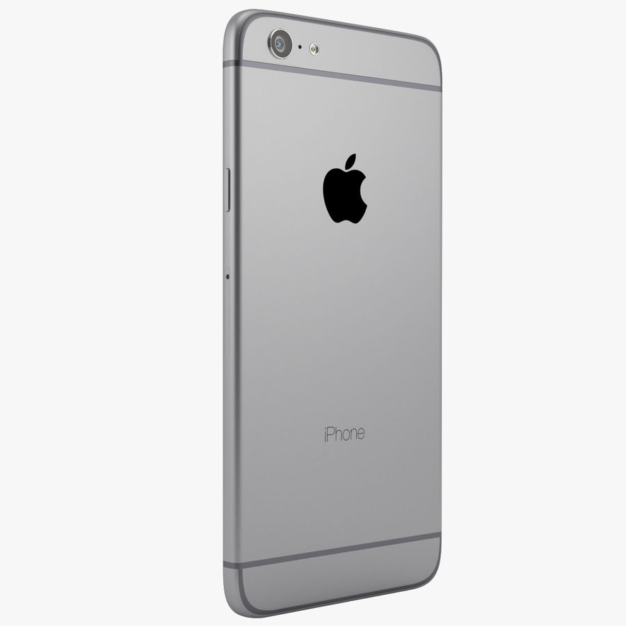 iPhone 6 royalty-free 3d model - Preview no. 3