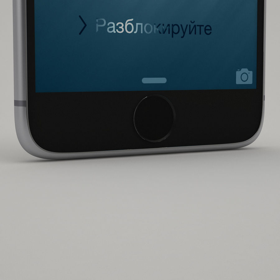 iPhone 6 royalty-free 3d model - Preview no. 5