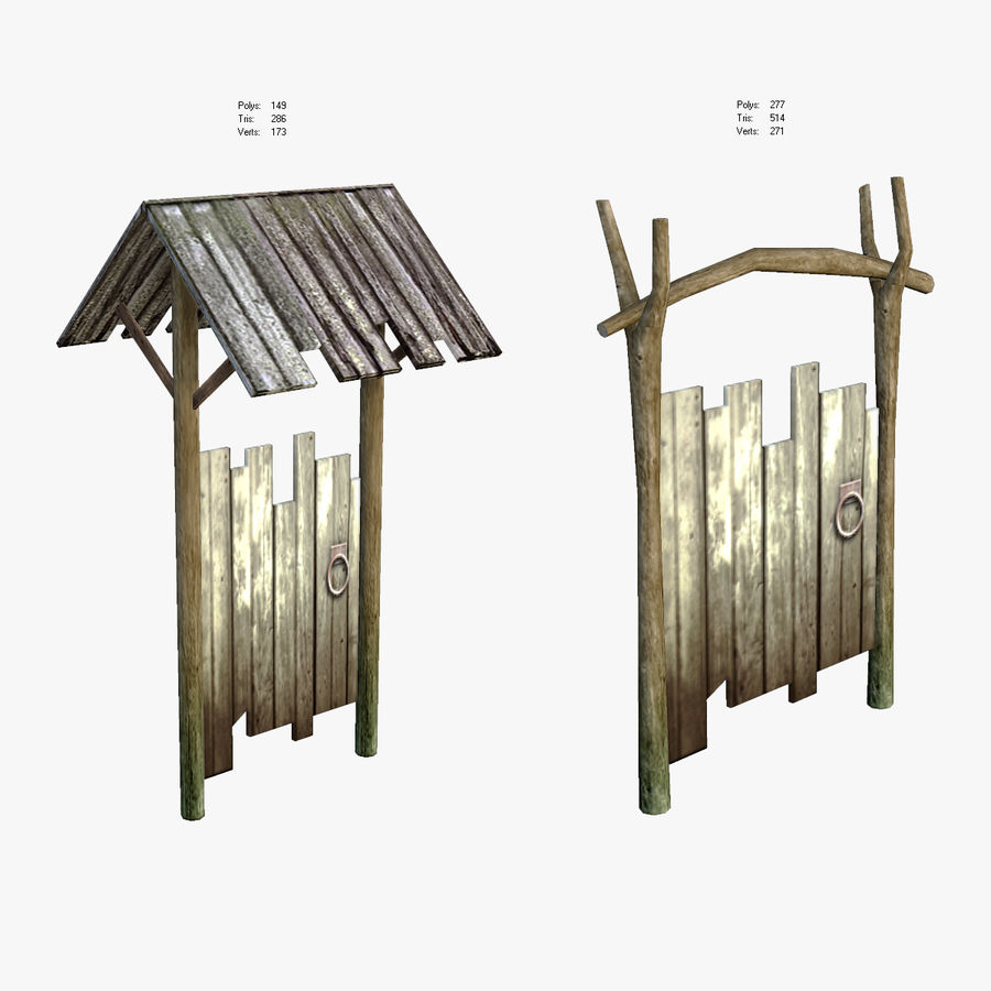 Medieval Village Content royalty-free 3d model - Preview no. 5