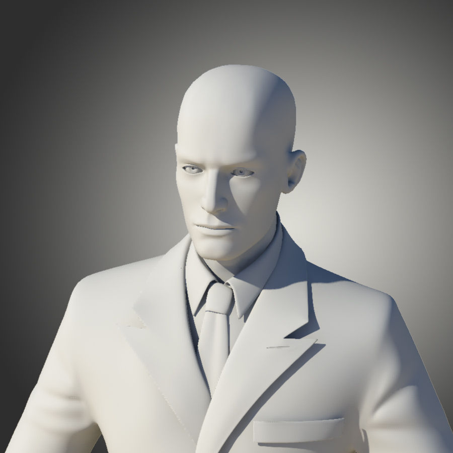 Man royalty-free 3d model - Preview no. 4