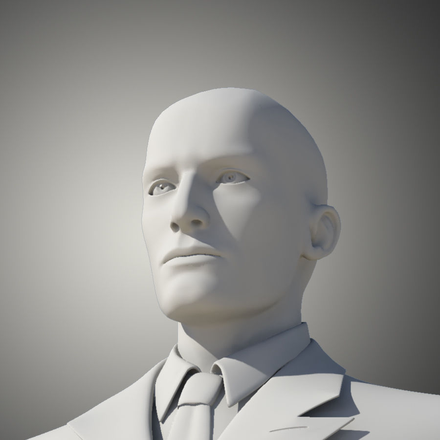 Man royalty-free 3d model - Preview no. 7