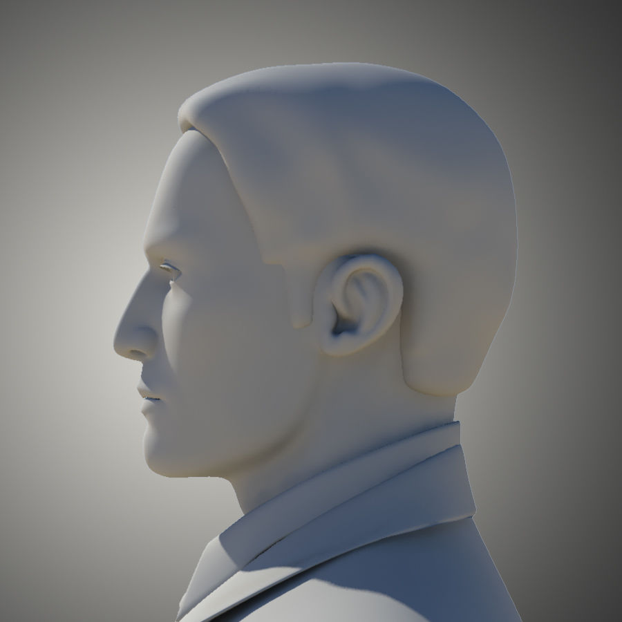 Man royalty-free 3d model - Preview no. 9
