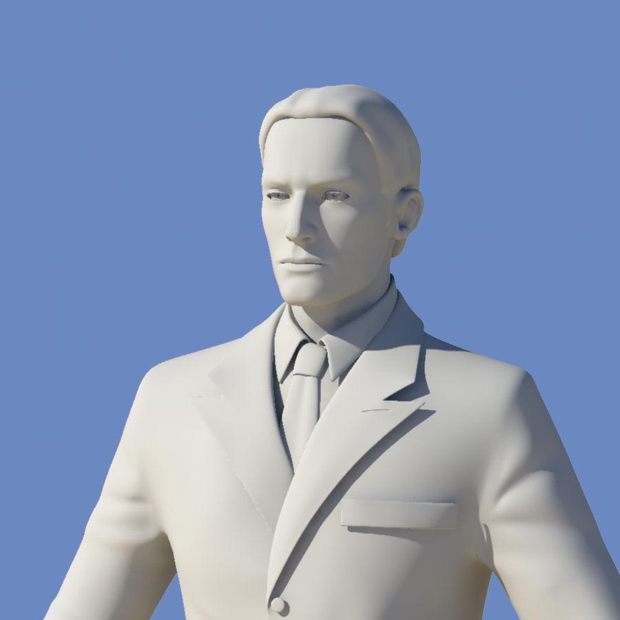 Man royalty-free 3d model - Preview no. 28
