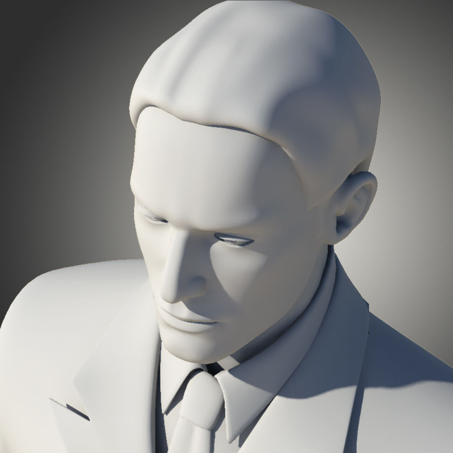 Man royalty-free 3d model - Preview no. 8