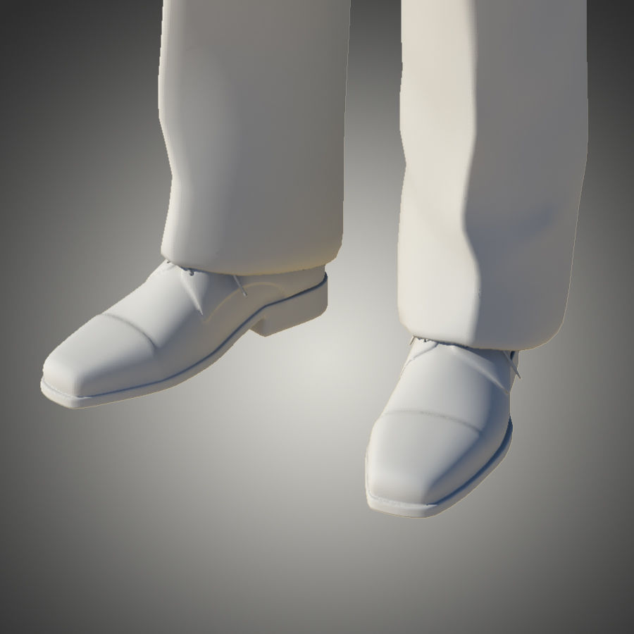 Man royalty-free 3d model - Preview no. 12