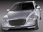 Hyundai Genesis 2015 3d model