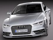 Audi A7 2015 3d model