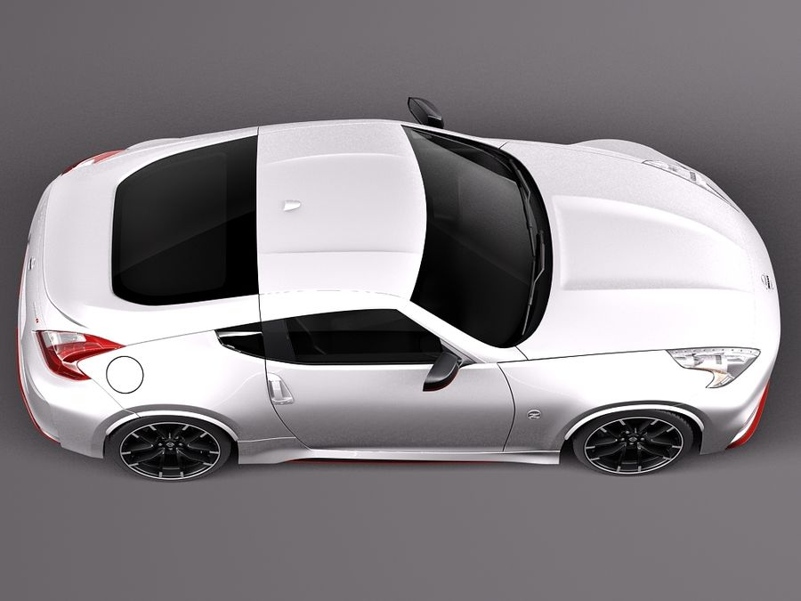 Nissan 370Z Nismo 2015 royalty-free 3d model - Preview no. 8