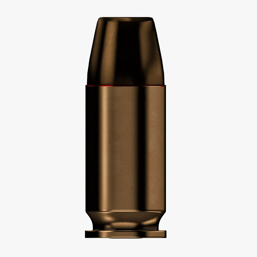 .45 ACP Bullet royalty-free 3d model - Preview no. 2