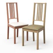 Krzesło BORJE do jasnego drewna 3d model