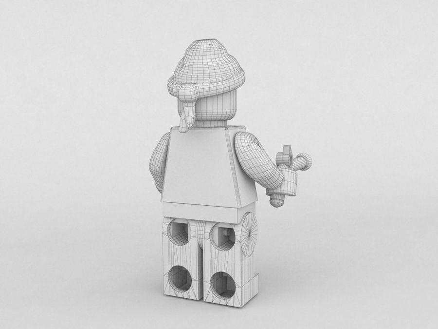 Korsan lego karakteri 3 royalty-free 3d model - Preview no. 6