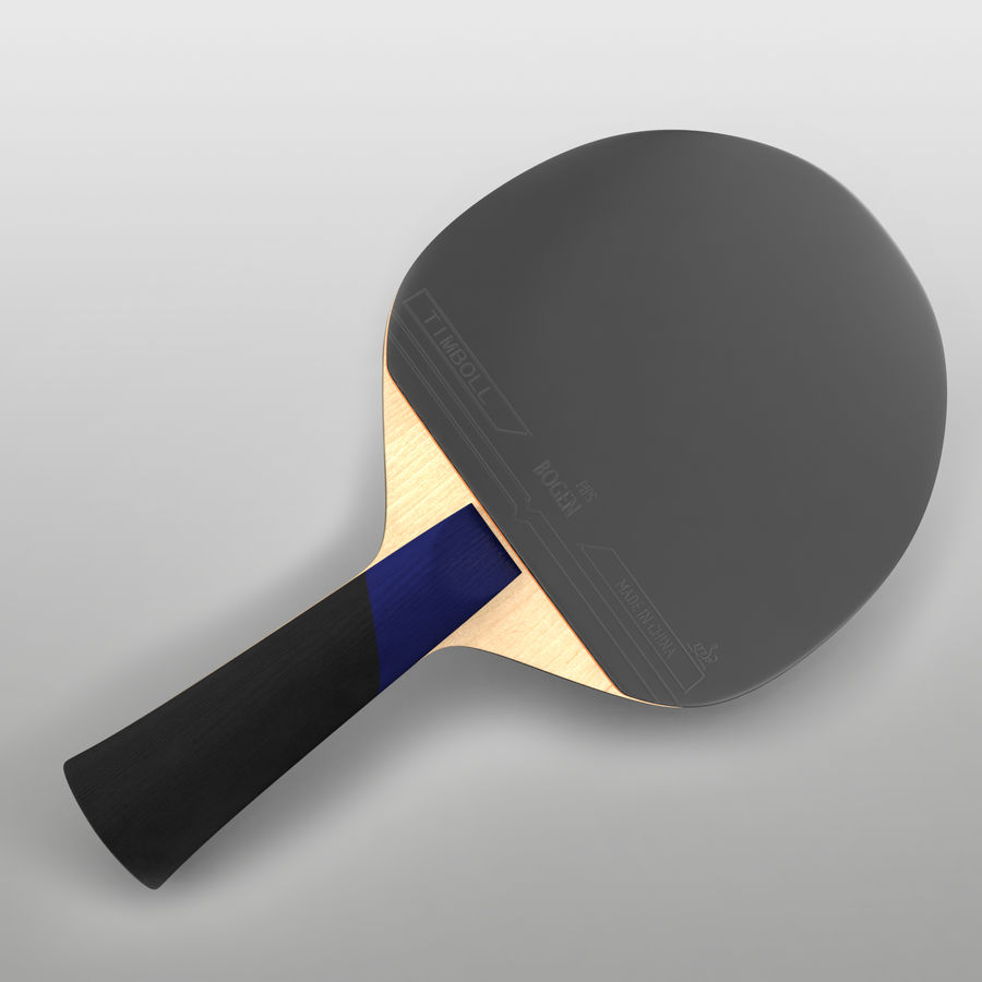 Ping Pong Paddle royalty-free 3d model - Preview no. 2