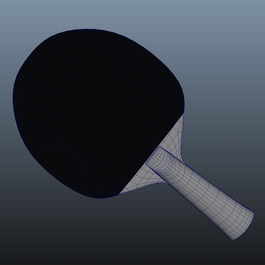 Ping Pong Paddle royalty-free 3d model - Preview no. 6