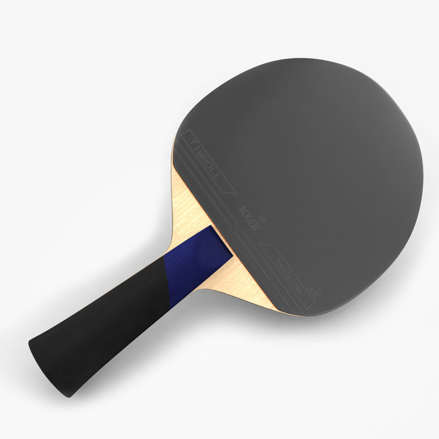 Ping Pong Paddle royalty-free 3d model - Preview no. 1