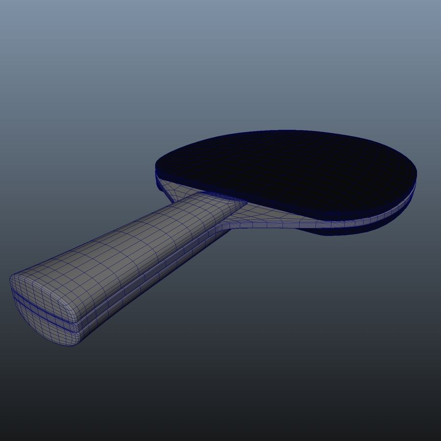 Ping Pong Paddle royalty-free 3d model - Preview no. 7