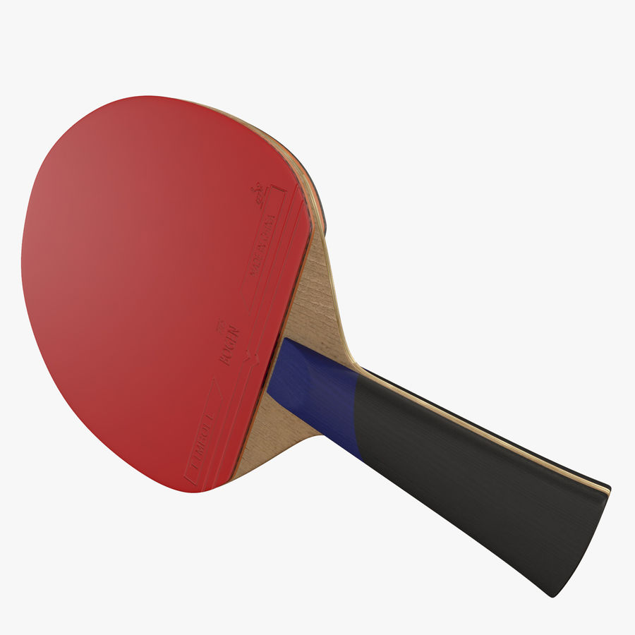 Ping Pong Paddle royalty-free 3d model - Preview no. 4