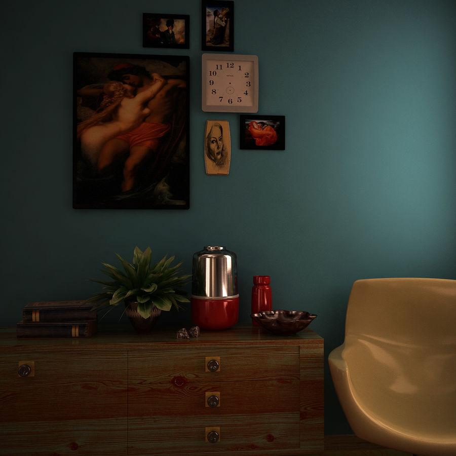 室内设计 royalty-free 3d model - Preview no. 1