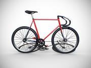 クラシック固定ギア自転車 3d model