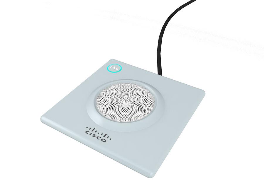 Telefone com alto-falante da Cisco royalty-free 3d model - Preview no. 1