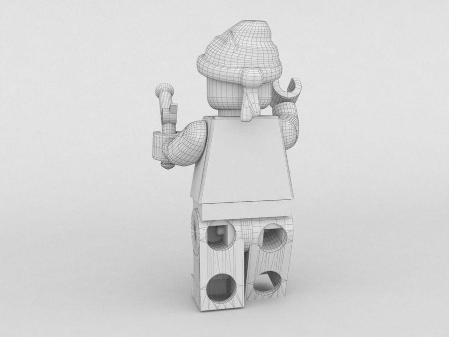 Pirates lego karaktärer royalty-free 3d model - Preview no. 28