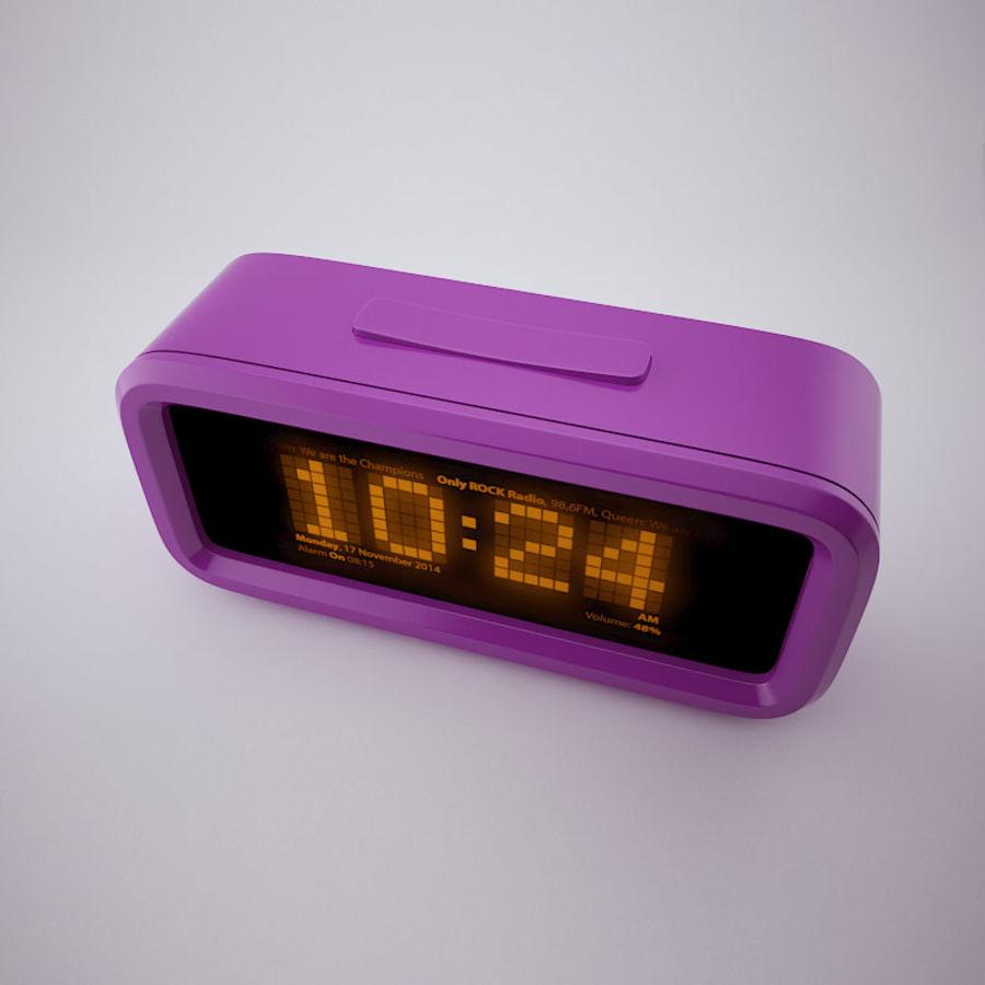 Digital Alarm Clock royalty-free 3d model - Preview no. 6