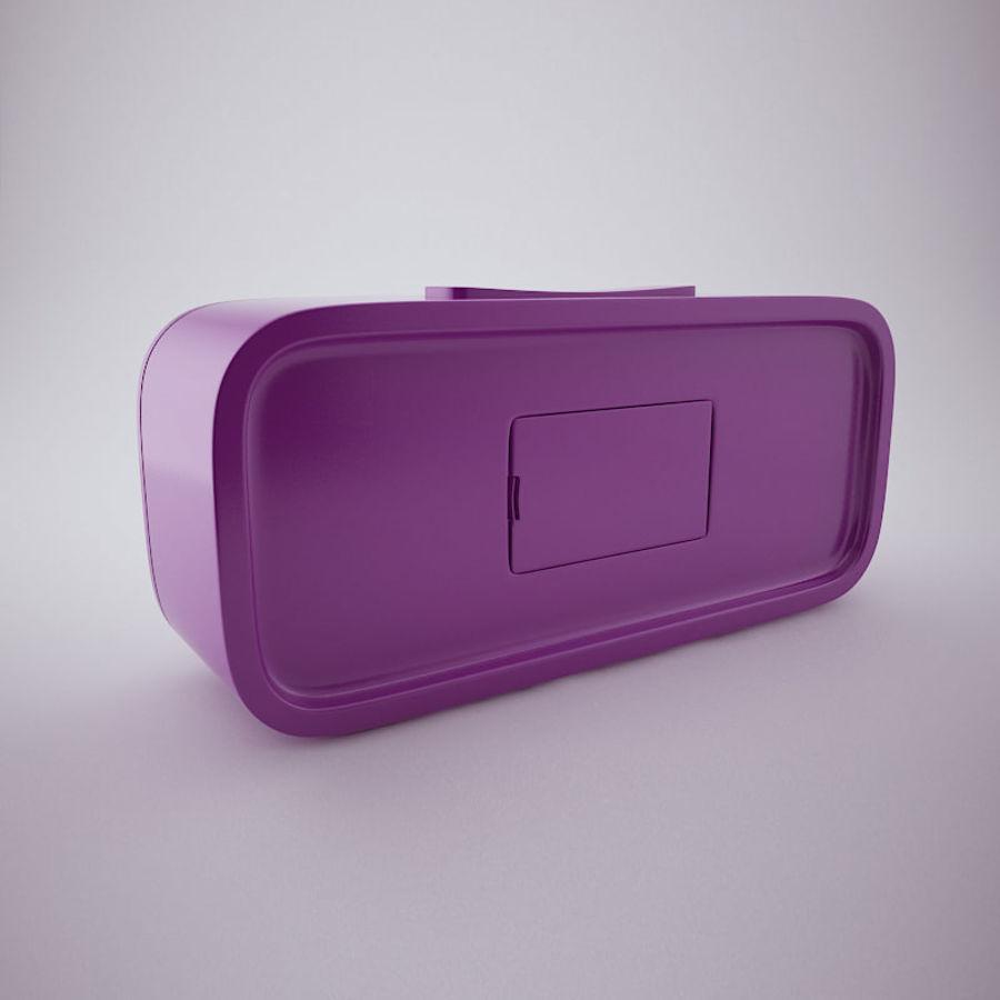 Digital Alarm Clock royalty-free 3d model - Preview no. 3