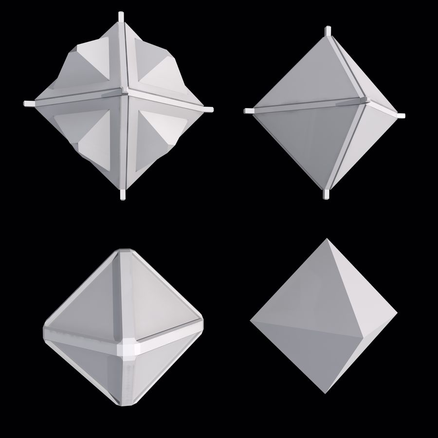 Geometric Shape MHT-01 royalty-free 3d model - Preview no. 2